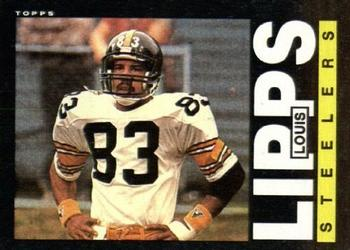 1985 Topps #358 Louis Lipps Front
