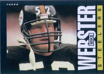 1985 Topps #365 Mike Webster Front