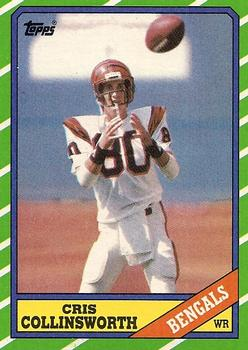 1986 Topps #258 Cris Collinsworth Front