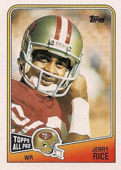 1988 Topps #43 Jerry Rice Front