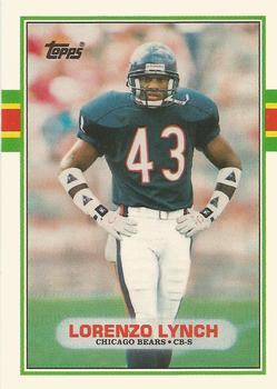 1989 Topps Traded #42T Lorenzo Lynch Front