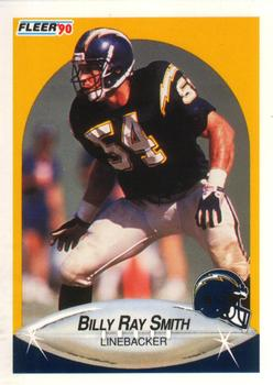 1990 Fleer #313 Billy Ray Smith Front