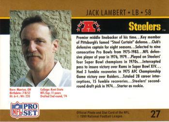 jack lambert stats