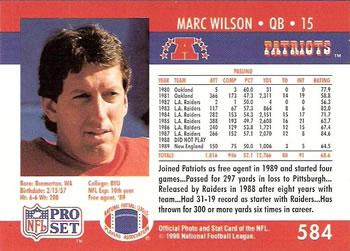 Marc Wilson stats