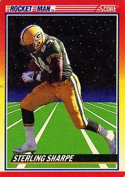 1990 Score #560 Sterling Sharpe Front