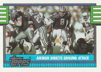 1990 Topps #511 Troy Aikman Front