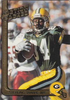 1991 Action Packed #88 Sterling Sharpe Front