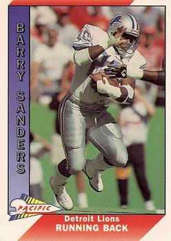 1991 Pacific #144 Barry Sanders Front