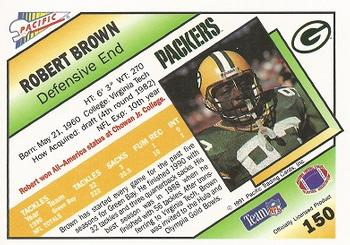 1991 Pacific #150 Robert Brown Back