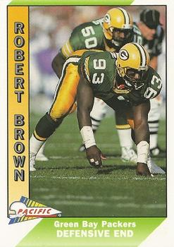 1991 Pacific #150 Robert Brown Front
