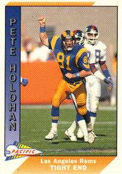 1991 Pacific #254 Pete Holohan Front