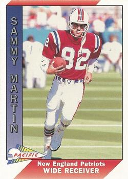 1991 Pacific #319 Sammy Martin Front