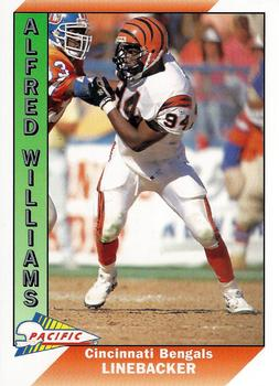 1991 Pacific #566 Alfred Williams Front