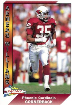 1991 Pacific #633 Aeneas Williams Front