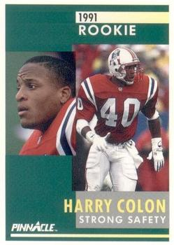 1991 Pinnacle #305 Harry Colon Front