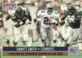 1991 Pro Set #1b Emmitt Smith Front