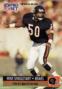 1991 Pro Set #5 Mike Singletary Front