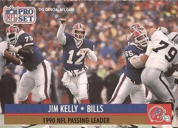 1991 Pro Set #8 Jim Kelly Front