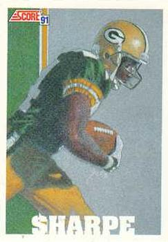 1991 Score #639 Sterling Sharpe Front