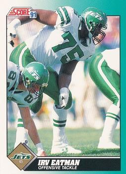 1991 Score Supplemental #41T Irv Eatman Front