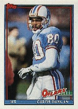 1991 Topps #241 Curtis Duncan Front