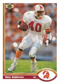 1991 Upper Deck #204 Gary Anderson Front