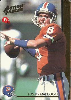 1992 Action Packed Rookie Update #32 Tommy Maddox Front