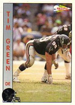 1992 Pacific #12 Tim Green Front