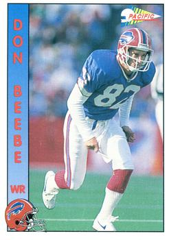 1992 Pacific #14 Don Beebe Front