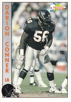1992 Pacific #2 Darion Conner Front