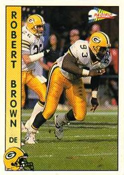 1992 Pacific #425 Robert Brown Front
