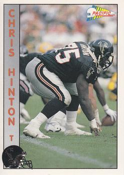 1992 Pacific #5 Chris Hinton Front