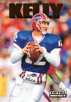 1992 SkyBox Impact #SP1 Jim Kelly Front