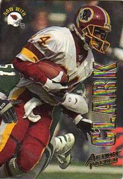 1993 Action Packed #32 Gary Clark Front