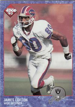 1993 Collector's Edge #17 James Lofton Front
