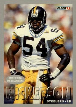 1993 Fleer #130 Hardy Nickerson Front