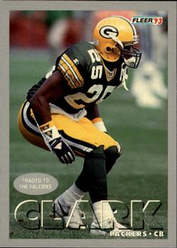 1993 Fleer #302 Vinnie Clark Front