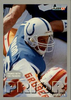 1993 Fleer #375 Mike Prior Front