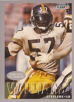 1993 Fleer #439 Jerrol Williams Front