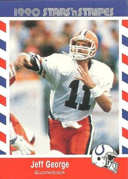 Jeff George Gallery The Trading Card Database
