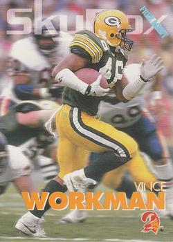 1993 SkyBox Impact #327 Vince Workman Front