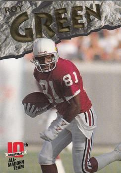 1993 Action Packed All-Madden #9 Roy Green Front
