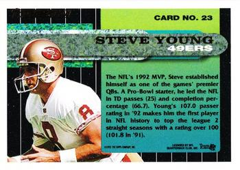 1993 Topps Steve Young Football Card #135 Steve Young