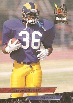 1993 Ultra #232 Jerome Bettis Front