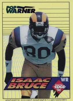 1994 Collector's Edge - Boss Rookies Update Green #13 Isaac Bruce Front