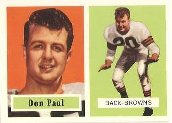 1994 Topps Archives 1957 #114 Don Paul  Front