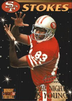 1995 Action Packed Monday Night Football #88 J.J. Stokes Front