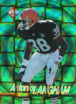 1995 Collector's Edge - EdgeTech Circular Prisms #13 Antonio Langham Front