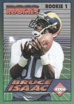 1994 Collector's Edge - Boss Rookies #1 Isaac Bruce Front