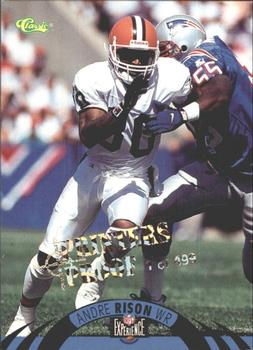 1996 Classic NFL Experience - Printer's Proofs #47 Andre Rison Front